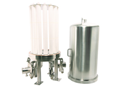 Single and Double Open Ended Cartridge Filter Housing